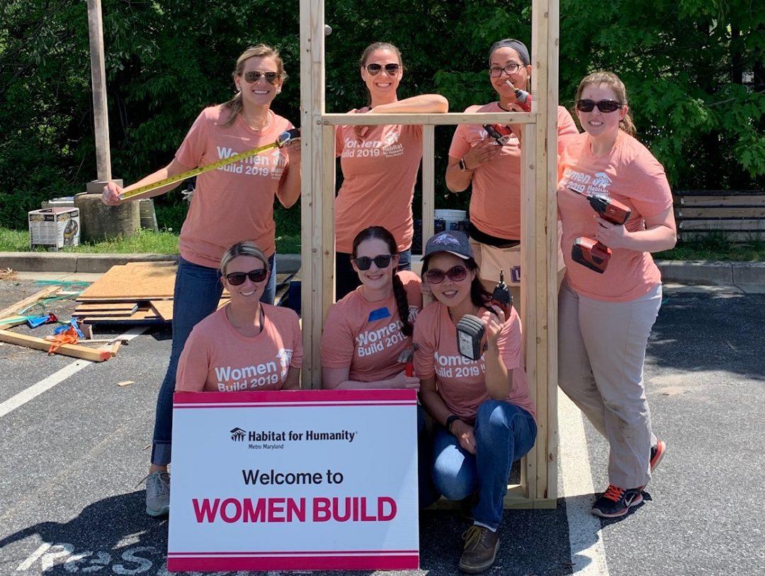 BCC at Habitat for Humanity Women Build