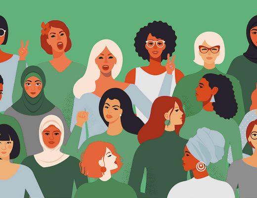 Women's History Month Vector