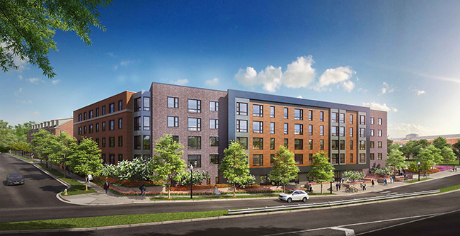 Wesley Housing Rendering
